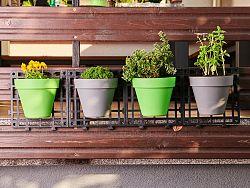 Nástenné kvetináče Delimano Grow , sivá