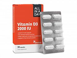 Vitamín D3 All in a day Welleno